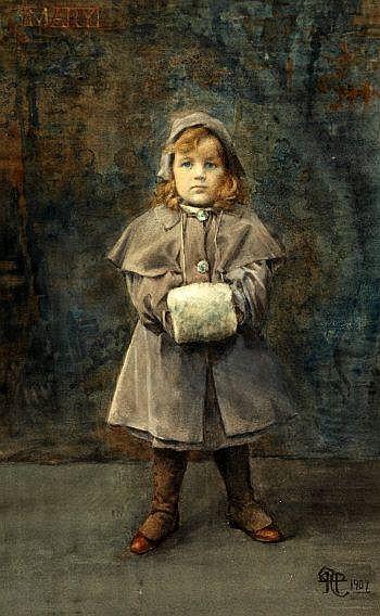 HENRY MEYNELL RHEAM (BRITISH 1859-1920), Mary,