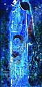 FELICIANO BEJAR, Castillo azul, FIrmado y fechado, 66 Óleo sobre tela, 50 x 25.5 cm, Feliciano Bejar, Click for value