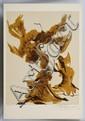 DAVID ALFARO SIQUEIROS, Sin título, de Prison Fantasies Suite, 1968, Firmada a lápiz. Litografía 156 / 250, 45.5 x 35.5 cm