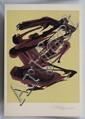 DAVID ALFARO SIQUEIROS, Sin título, de Prison Fantasies Suite, 1968, Firmada a lápiz. Litografía 156 / 250, 46 x 35.5 cm
