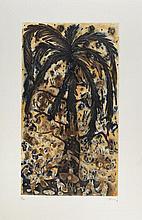 SERGIO HERNÁNDEZ, Sin título, Firmado. Grabado 18 / 30, 69.5 x 39 cm