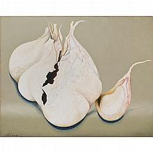 OLGA DONDÉ, Eternity, Firmado y fechado 1985. Óleo sobre tela, 121 x 152 cm