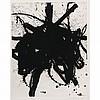 ROBERT MOTHERWELL, Black sea, 1979, Firmado, Grabado al aguatinta 11 / 40, 58 x 46 cm, Robert Motherwell, MXN0