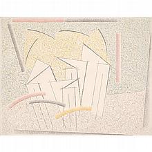 HUGO DE MARZIANI, Paisaje, 2000, Firmado y fechado al reverso, Óleo sobre tela, 110 x 130 cm