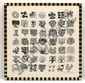 PEDRO FRIEDEBERG, Jardín Botánico, Firmada. Serigrafía sobre tela 14 / 100, 74 x 74 cm medidas totales con marco