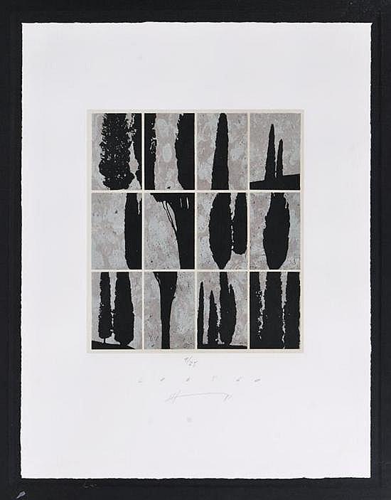 JAN HENDRIX Código Firmadas. a) Serigrafía 9 / 25 30 x 26.7 cm b) Serigrafía 10 / 25 30.3 x 26.8 cm PIEZAS: 2.