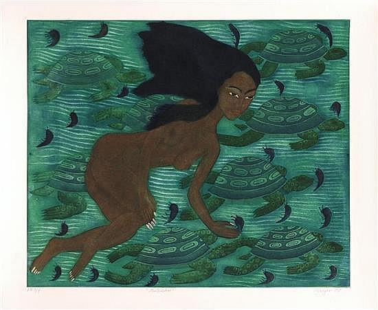 JUAN ALCÁZAR, Fertilidad, Firmado y fechado 09. Grabado P E 2 / 4, 49 x 59 cm