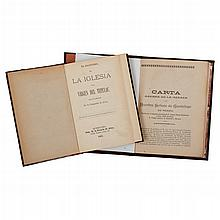 García Icazbalceta, Joaquín / Por un sacerdote. Carta acerca de la Imagen de Nuestra Señora de Guadalupe, El Magisterio...Pzas: 2.