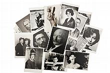 NPG / Fotofolio / Admira / Acme Cards / Culvier Pictures. Fotopostales ca. 1990. Actrices, Actores, Músicos, Científicos y Escritores.