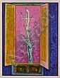 JUAN SORIANO., De la serie ventanas, Firmada y fechada 2005 Litografía 50 / 50, 80 x 61 cm