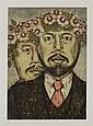 NAHUM B. ZENIL, La manda, Firmado y fechado 96. Grabado 15 / 60, 50 x 35 cm