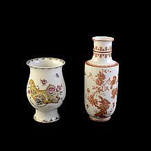 Lote de floreros. Origen alemán. Elaborados en porcelana Kaiser y Hutschenreuther. Diferentes diseños y tamaños.