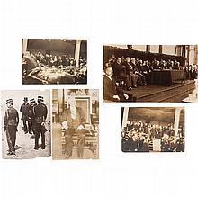 Waite, Charles / Chicago Photo Studio / Anónimo. Fotografías de Porfirio Díaz. Ca. 1910. Piezas: 5.