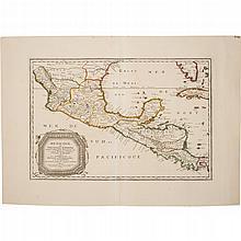 GA - Sanson, Nicolás. Mexicque, ou Nouvelle Espagne, Nouvelle Gallice, Iucatan &c. et Autres Provinces Jusques a l'Isthme de Panama.