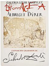 Galería Louis Moufflet. Hommage a Albrecht Dürer. Marbella, Agosto - Octubre, 1971. Grabado, 76 x 56.5 cm.