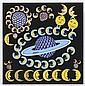 PEDRO FRIEDEBERG, Las lunas de Saturno, Firmada. Serigrafía P / E 3 / 5, 68 x 66.5 cm