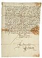 Fray Juan de Zumárraga. Orden de Cateo. Yo don fray Juan de Zumárraga por la miseración divina primer obispo... México, 21 de Nov, 1536