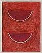 RUFINO TAMAYO, Sandías, 1977, Firmada. Mixografía I / XXV, 73.5 x 55 cm