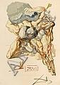 Salvaro Dali, Hercules, signed, litography