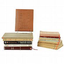 Lote de libros. La arquitectura en México/ Tepotzotlán su historia y sus tesoros/ Otros. Piezsa: 20