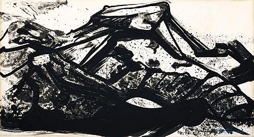 DAVID ALFARO SIQUEIROS, From the Collection of Poems by Pablo Neruda Lithograph, 60 x 104 cm