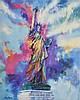 AFTER LEROY NEIMAN, (American, 1921-2012), Statue of Liberty, Offset lithograph, H 25 x W 20¼ inches.