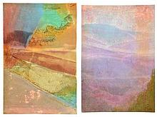 HENRI PFEIFFER, (German/French, 1907-1994), Untitled, Watercolor (two works), H 18½ x W 12½ inches (each).