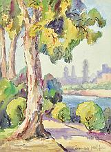 FRANCES KEFFER, (American, 1881-1953), Untitled, Watercolor on paper, H 11½ x W 8½ inches.