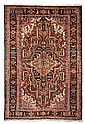 AN ANTIQUE PERSIAN HERIZ SERAPI CARPET Northwest Persia, Ca. 1920's. Good condition.