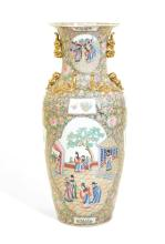 A CHINESE PORCELAIN FLOOR VASE