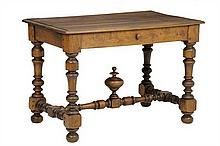 A FRENCH LOUIS XIII STYLE WRITING TABLE
