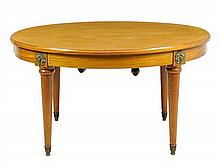 A FRENCH LOUIS XVI STYLE CENTER TABLE