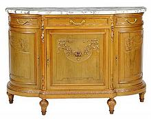 A FRENCH LOUIS XVI STYLE SIDEBOARD