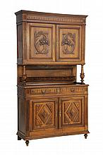 A FRENCH BAROQUE STYLE BUFFET A DEUX CORPS