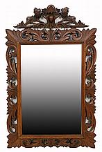 A FRENCH RENAISSANCE REVIVAL MIRROR