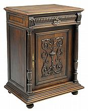 A FRENCH RENAISSANCE REVIVAL CUPBOARD
