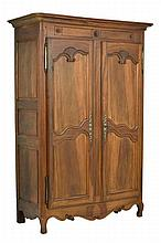 A FRENCH PROVINCIAL STYLE ARMOIRE