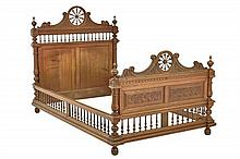 A FRENCH BRITTANY STYLE BED