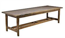 AN ENGLISH PROVINCIAL REFECTORY TABLE