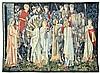 A BELGIAN WOOL TAPESTRY, AFTER WILLIAM MORRIS AND EDWARD BURNE JONES, William Morris, $450