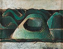 SHAY DOCKING (1928-1998)  Mount Cyclops 1969