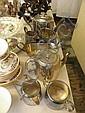 EPNS teapots, sugars, creams etc
