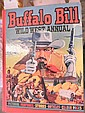 Seven 1950s Buffalo Bill annuals
