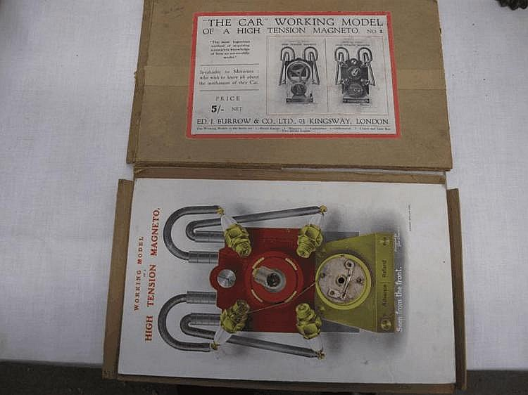 'The Car' working model of a high tension magneto