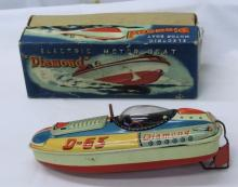 Diamond Electric Motor Boat In Box
