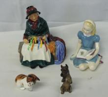 4 Pc Royal Doulton England Porcelain Lot