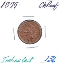 1879 Indian Cent Grade: CH Proof