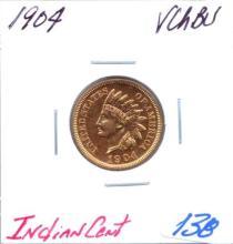 1904 Indian Cent Grade:  VCHBU