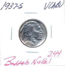1937-S Buffalo Nickel Grade:  VCHBU