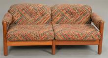 Pair of Danish Modern sofas. lg. 60 in.
